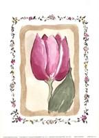 "Mini Flower II by Charlene Winter Olson - 5"" x 7"""