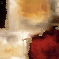 Crimson Accent I Fine Art Print
