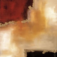 Crimson Accent II Fine Art Print
