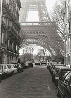 "Street View of """"La Tour Eiffel"""" Fine Art Print"