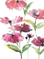 Tickled Pink Posies Fine Art Print