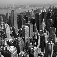 Manhattan to Brooklyn Fine Art Print