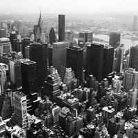 Manhattan and the Hudson Fine Art Print