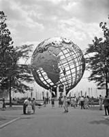 1964 New York World's Fair Unisphere Flushing Meadows NY Fine Art Print