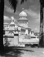 The Capitol Building Havana Cuba Fine Art Print