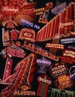 The Strip Neon Signs Las Vegas Fine Art Print