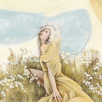 Fairy of the Pale Skies (detail) Fine Art Print