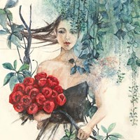 Fairy of the Roses (detail) Fine Art Print