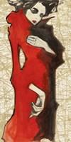 Feminine Red Fine Art Print