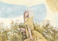 Fairy of the Pale Skies Fine Art Print