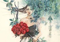 Fairy of the Roses Fine Art Print