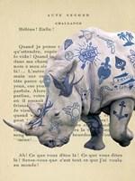 Tattooed Savannah III Fine Art Print