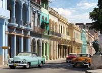 Avenida in Havana, Cuba Fine Art Print