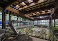 Abandoned Resort Pool, Upstate NY Fine Art Print