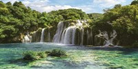 Waterfall in Krka National Park, Croatia Fine Art Print