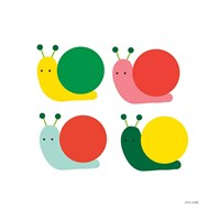 Snails Four Fine Art Print