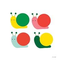 Snails Four Fine Art Print