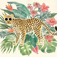 Jungle Vibes Jaguar Fine Art Print