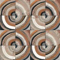 The Center I Abstract Warm Fine Art Print