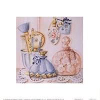 "Perfume Trio IV by Mariapia & Marinella Angelini - 6"" x 6"""