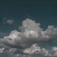 Clouds V Fine Art Print