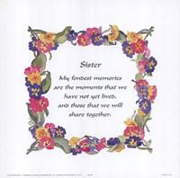 Sister Fine Art Print
