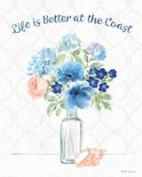 Coastline Botanical VIII Fine Art Print