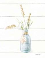 Beach Flowers III Neutral Fine Art Print