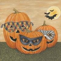Funny Pumpkins Fine Art Print