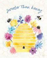 Bee Harmony V Framed Print