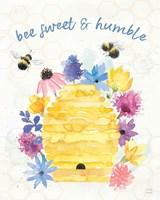 Bee Harmony IV Framed Print