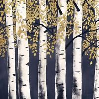 Fresh Forest Indigo II Framed Print