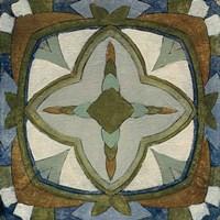 Old World Tile X Fine Art Print