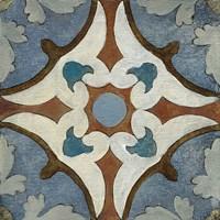 Old World Tile VII Fine Art Print