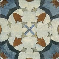 Old World Tile V Fine Art Print