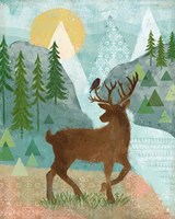 Woodland Forest II Fine Art Print