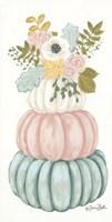 Floral Pumpkins Fine Art Print