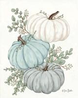 Pumpkin Trio Fine Art Print