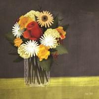 Wildflowers in Mason Jar Fine Art Print