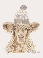 Cozy Cow Fine Art Print