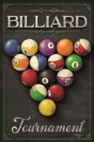 Billiards Tournament Fine Art Print