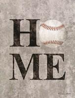 Baseball HOME Fine Art Print