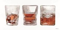 Bourbon Glasses 1 Fine Art Print