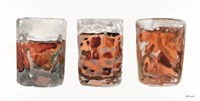 Bourbon Glasses 2 Fine Art Print