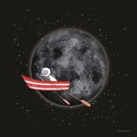 Sail to the Moon Fine Art Print