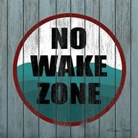 No Wake Zone Fine Art Print