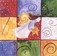 """Angel by Carol Robinson - 6"""" x 6"""""""