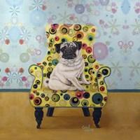 Pug-a-dots Fine Art Print