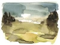 Alpine Wetlands I Fine Art Print