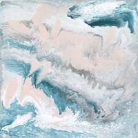 Pastel Swirl II Framed Print